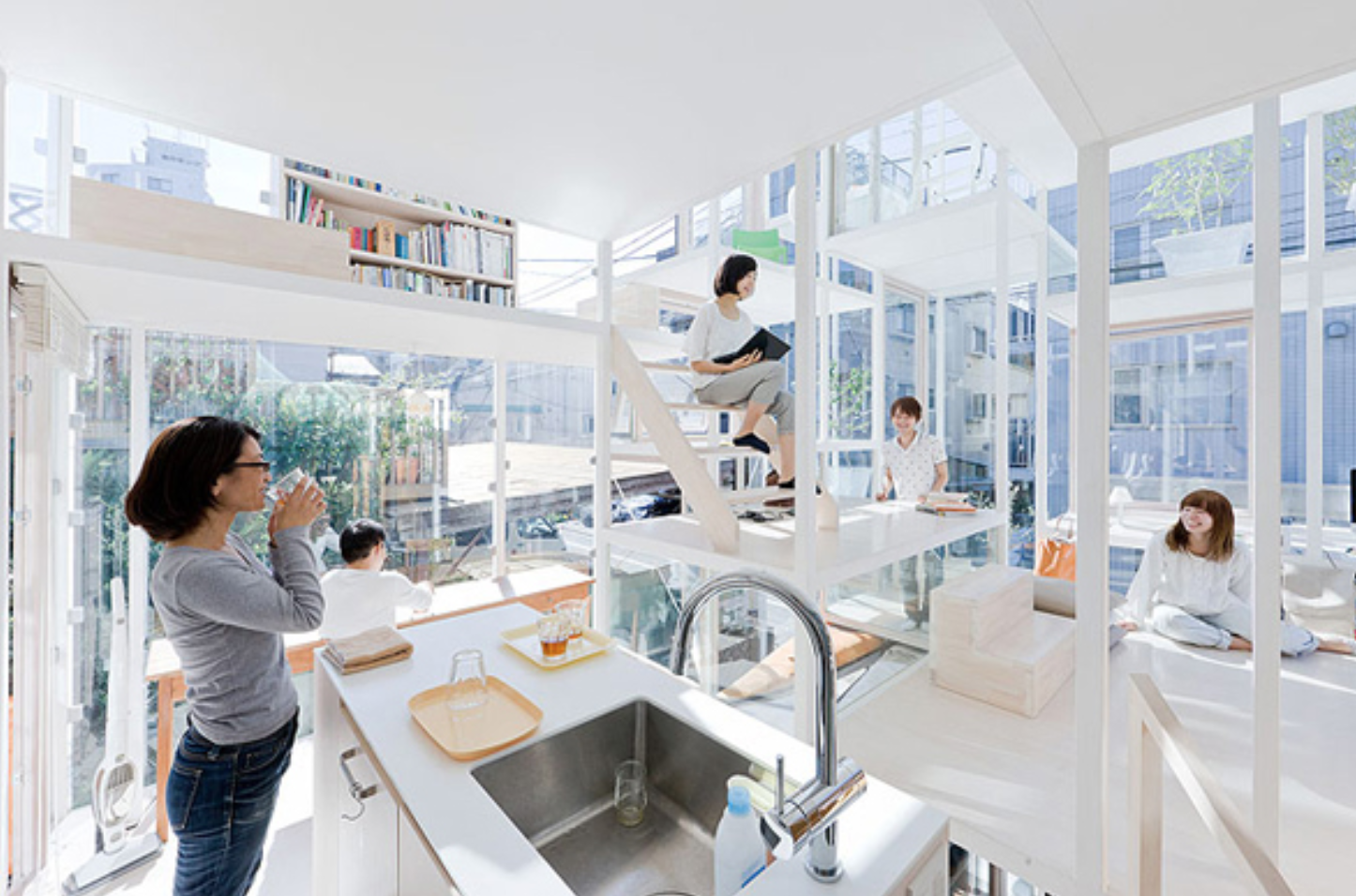 Sou Fujimoto Tokyo houses - discovered and loved by human-lifestyle.com